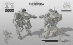 THEROPODA (other view) by HYDROGEARS