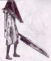 174 - Pyramid Head by Dalicris