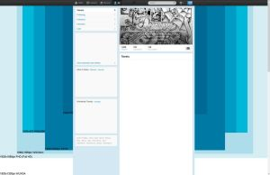 Twitter background template by dfmurcia