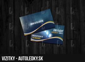 Autoledky.sk Business Cards by steweq