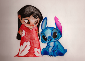 Lilo and Stitch by Aveku-chan-Kataang