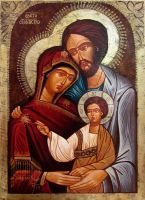 Holy Family by GalleryZograf