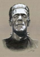 Frankenstein by legserrano