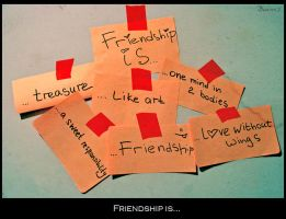 Friendship is.. by Bunnis