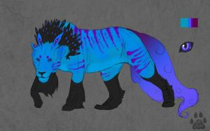 Quill Lion Custom for dawneclipse by catdoak