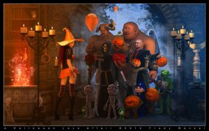 A Halloween Love Affair by Fredy3D