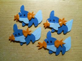 Mudkip necklace pendant by CynicalSniper