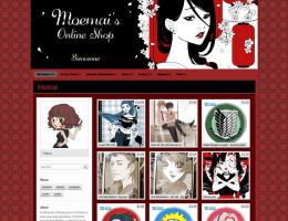 Online Shop OPEN by Moemai