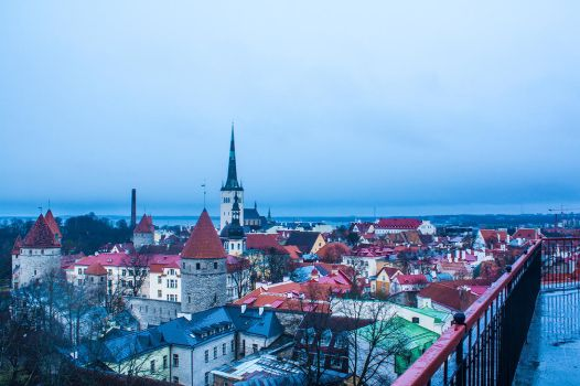 Tallinn Winter by aleszev