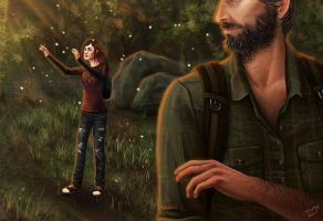 Last of Us - Fireflies by sketchtastrophe