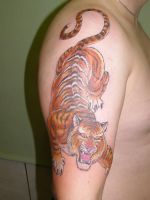 Jap Tiger by Inkcastle