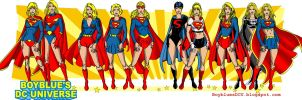 Evolution of Supergirl by BoybluesDCU