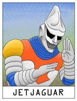 AlphaBots Week X: J is for Jet Jaguar by SamWolk