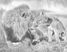 Father and cub by cjc7664