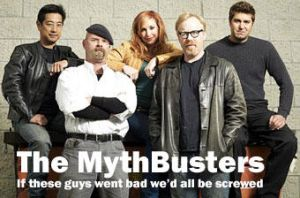 The Mythbusters by Electrical-Muse