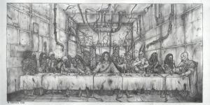 The Last Supper. by asylumseaker