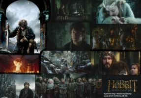 My MEGA MIX Collage - The Hobbit BOFA tribute by LilianettyPR