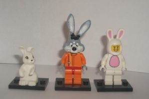 Lego Racer Rabbit 3 by TheEvstar