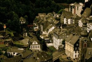 Monschau, Germany by LondonEngland
