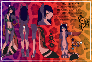 Daniella.S Coutrage Ref 1.0 by Pokemon-Chick-1