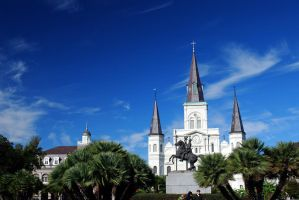 St. Louis Cathedral 1 by Boofunk