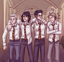Maraudersss: the Redraw by ggns