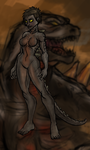 Legendary Godzilla Girl color 2 by Amrock
