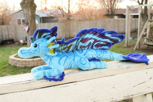 Dragonfish Dragon Plush by BeeZee-Art