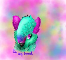 In my head by CanineCriminal