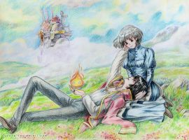 Howl's Moving Castle by Yuuza