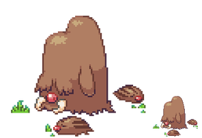 Piloswine and swinub