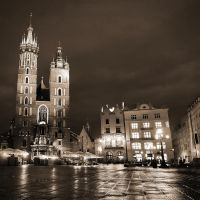 night shot St. Mary's by crh