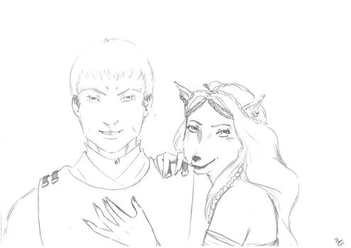 Onean et Anya by Nephtys81