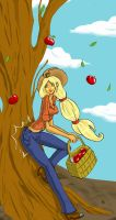 Apple Jack by RubyNina