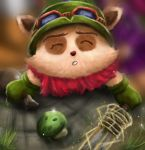 Teemo and mushroom aww League Of Legends by JamilSC11