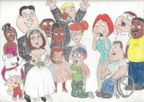 Quagmire Wedding by Metalchick36