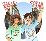 [APH] dorks in their dork shirts by melonstyle