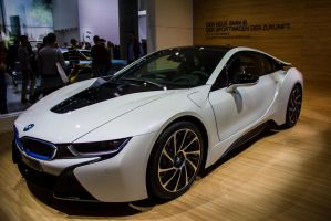Frankfurt 2013: BMW i8 by randomlurker