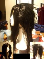V1: Uchiha Madara Cosplay wig by Angelic-nox