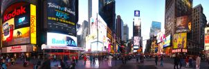 Times Square by Scartographer