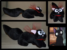 Jiji Cat Plush by Mlggirl