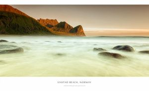 Unstad Beach - Norway by Stridsberg