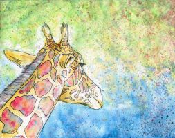 2012. Giraffe by mhebertfashion