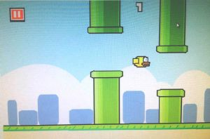 Flappy Bird in MS Paint :D by Vocalizer
