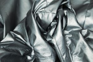 Abstract silver by NellyL