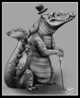 Sir Crocodile by Chipo-H0P3
