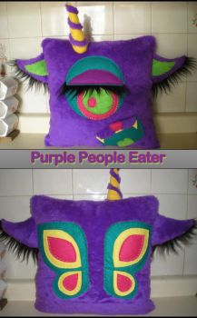Purple People Eater by banniee