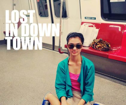 downtown train by mandaasuppo