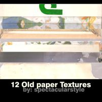 old paper textures by spectacularstyle