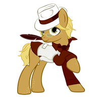 Ponysona: Back to 1920's by NoReasonToHope